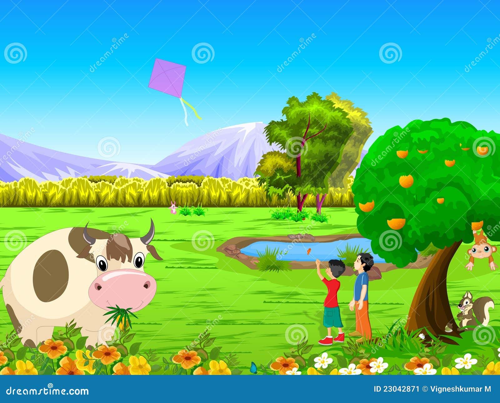 Garden Animals Clipart