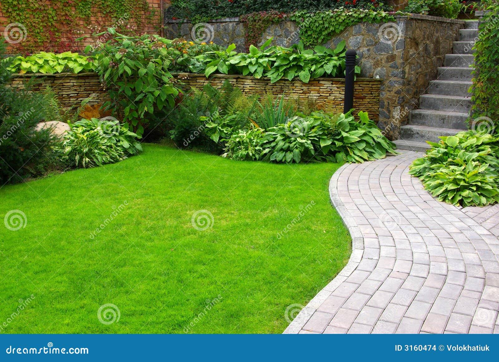 Download Garden stock photo. Image of direction, farmland, cobbles - 3160474