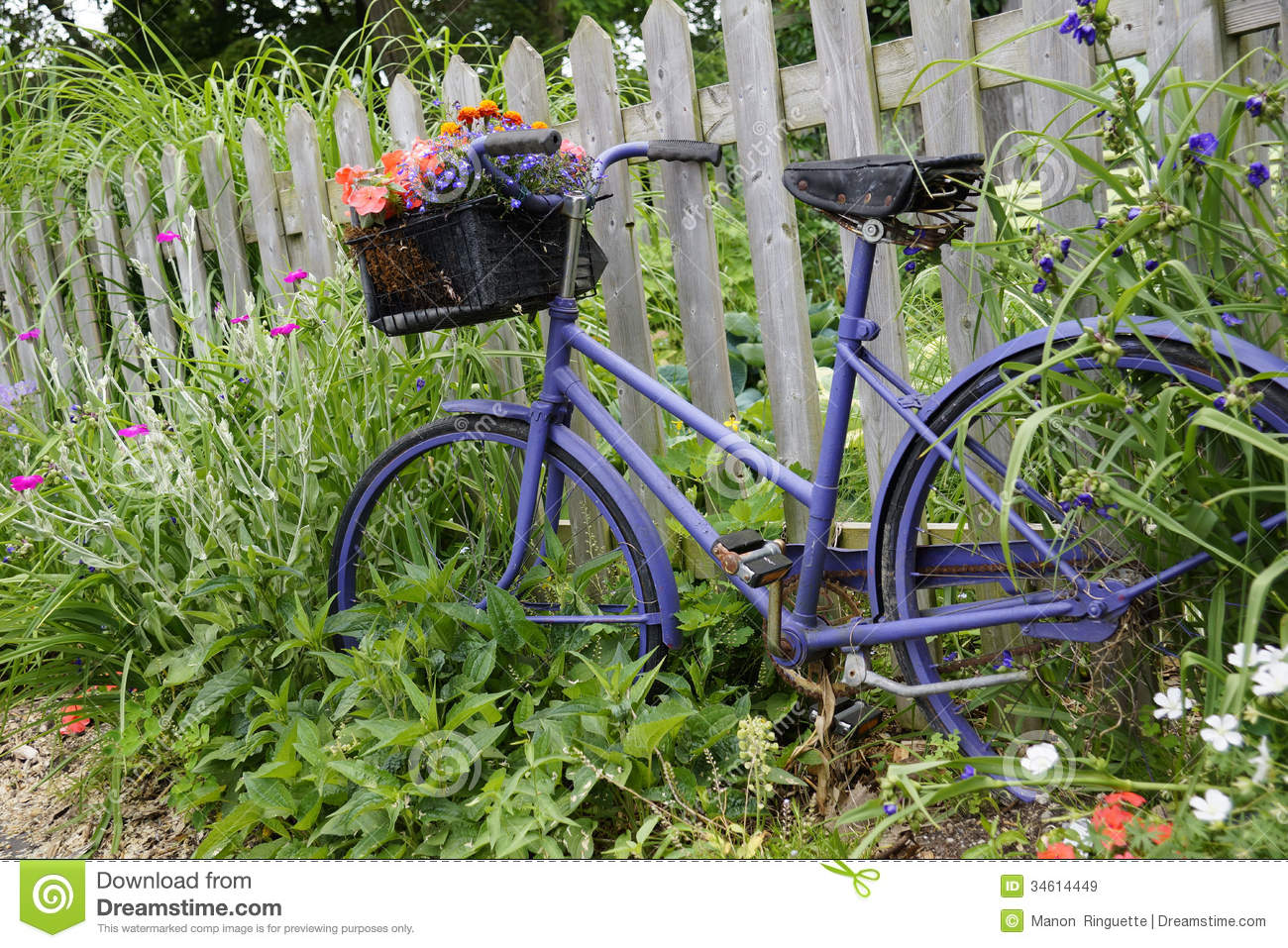 download whimsical garden accents stock image image of handlebars 34614449 - Garden Accents