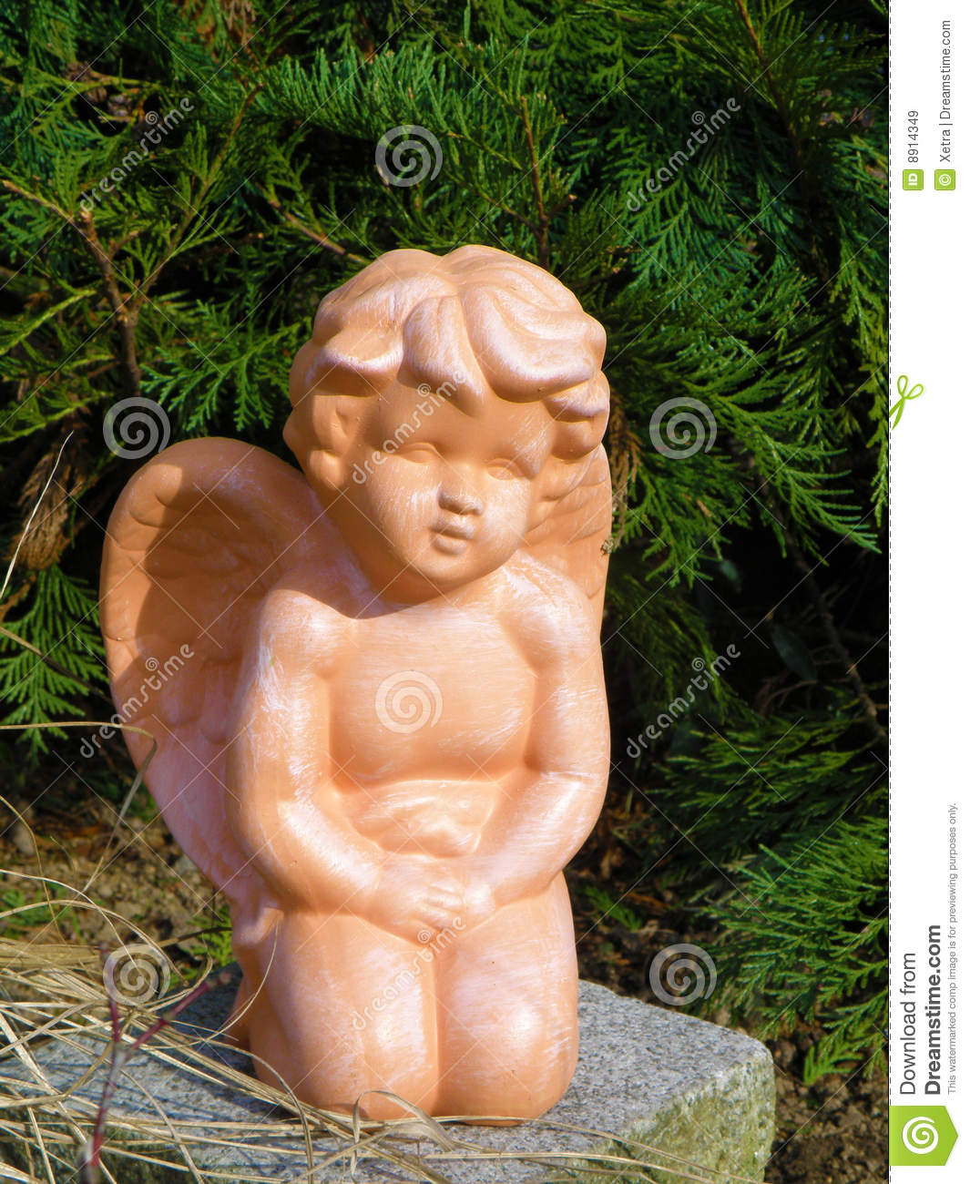 Garden Angel Royalty Free Stock Images Image 8914349