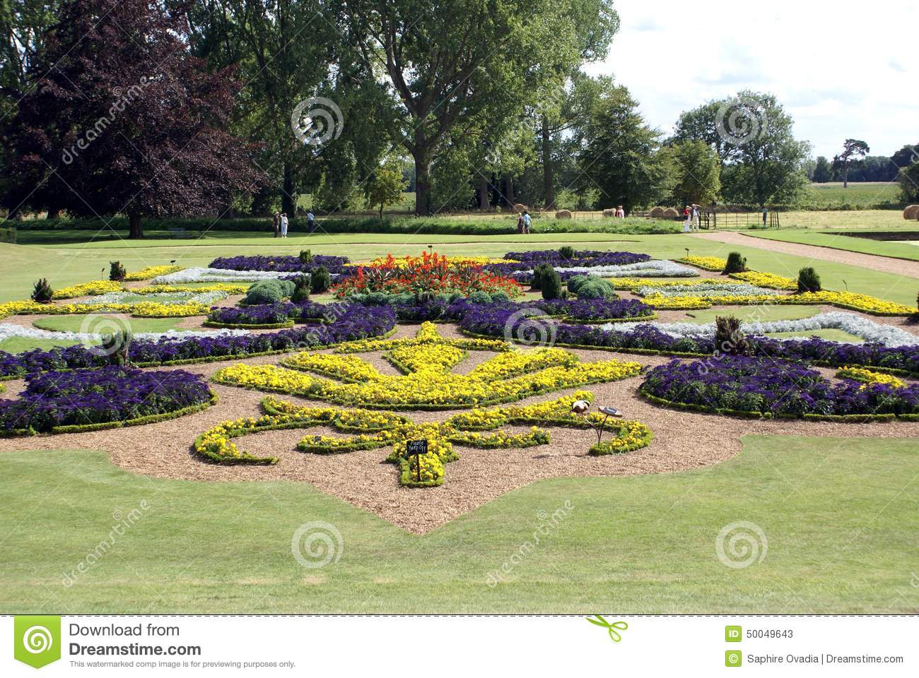 Garden art garden design flower beds stock photo image for Garden design graphics