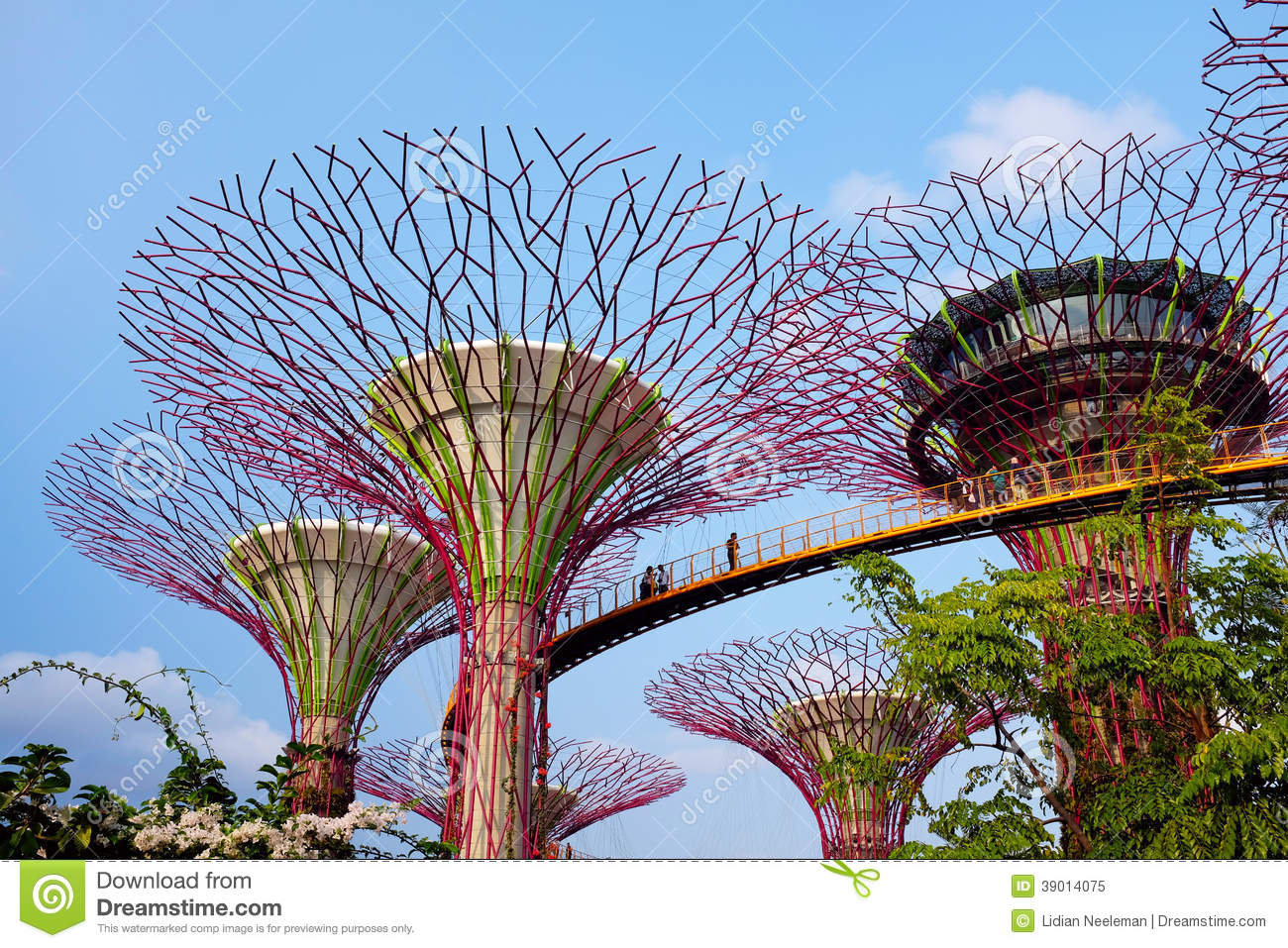 Garden By The Bay In Singapore Stock Photo Image 39014075
