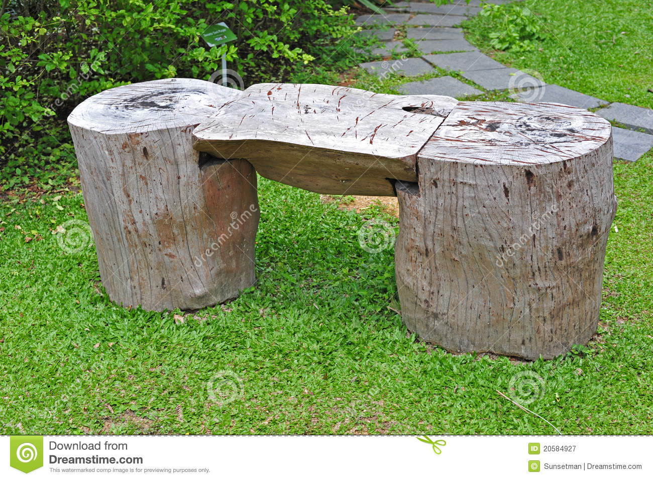 Garden Bench Stock Image Image Of Tired Bench Rest
