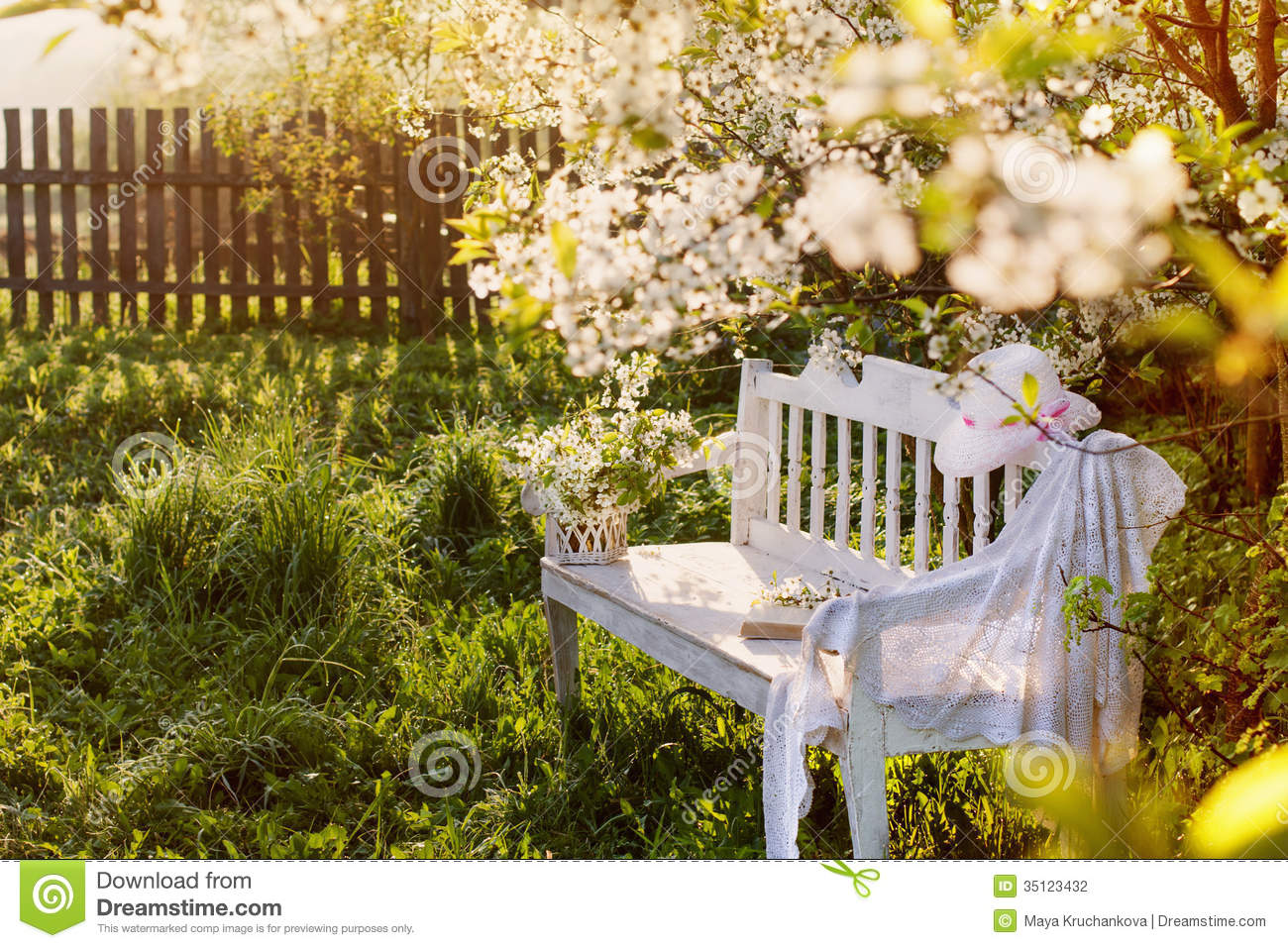 Swell Garden Bench Stock Photo Image Of Landscape Park Colorful Ncnpc Chair Design For Home Ncnpcorg
