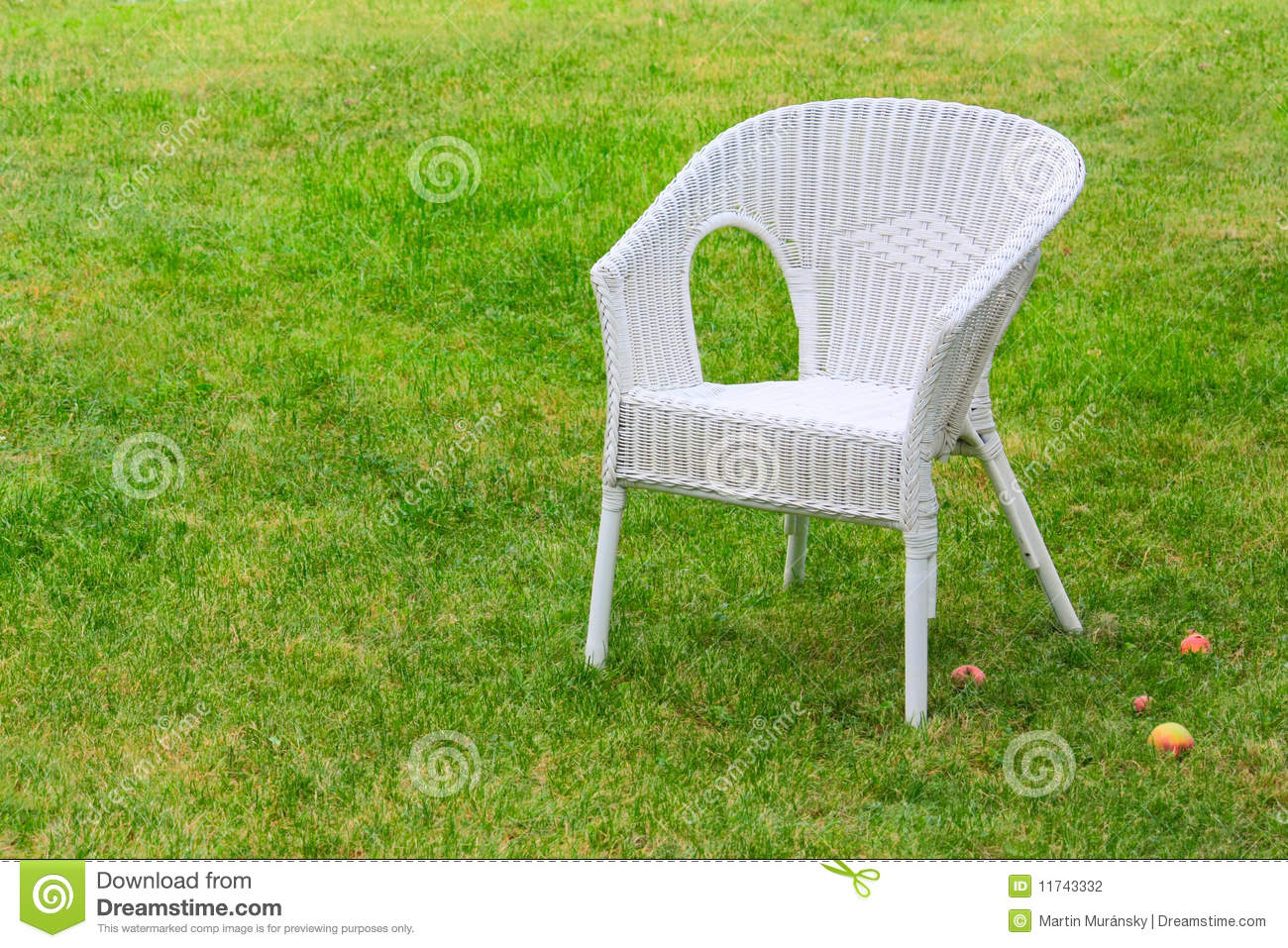 Garden Chair Stock graphy Image
