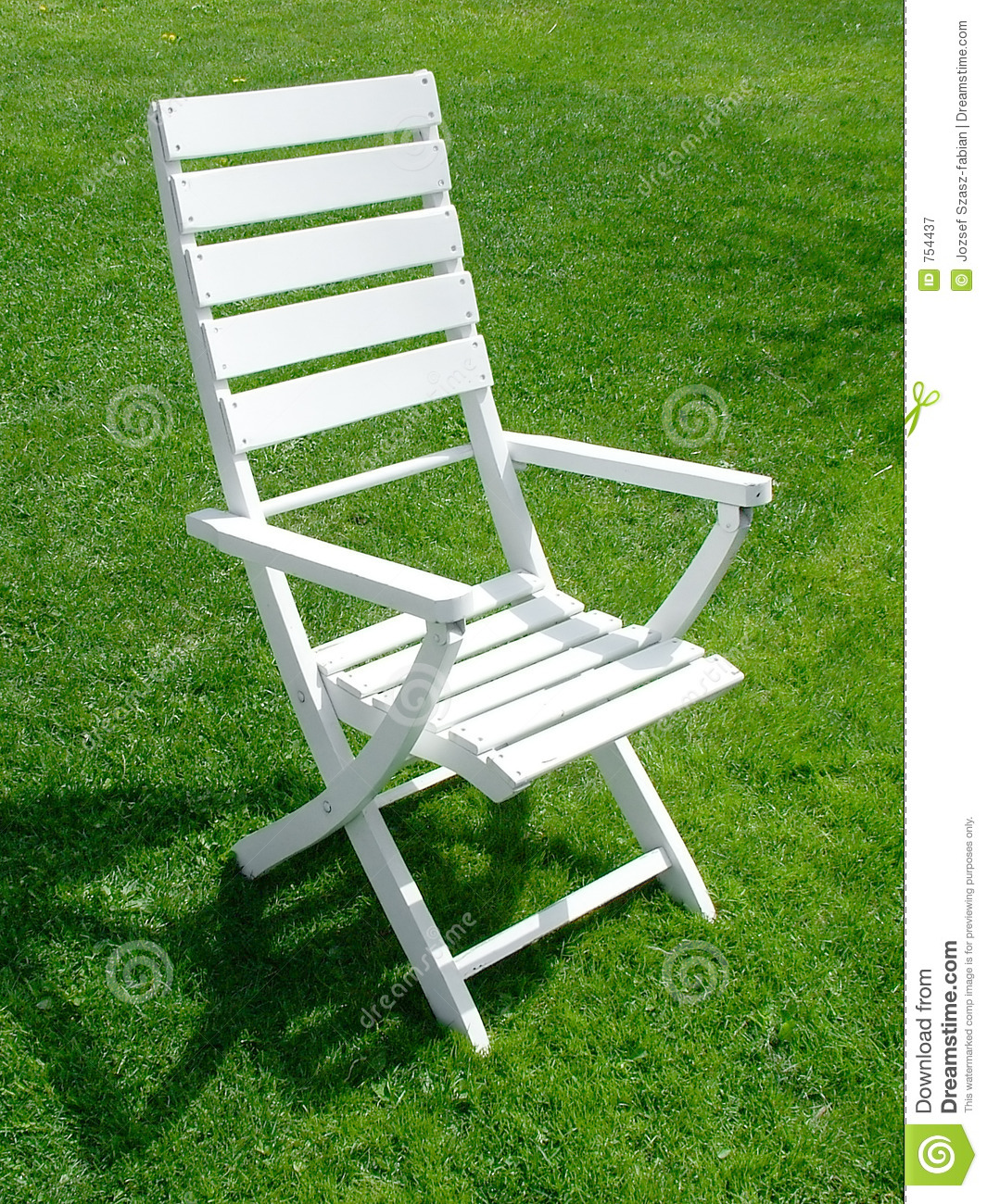 Garden Chair Royalty Free Stock Photography Image 754437