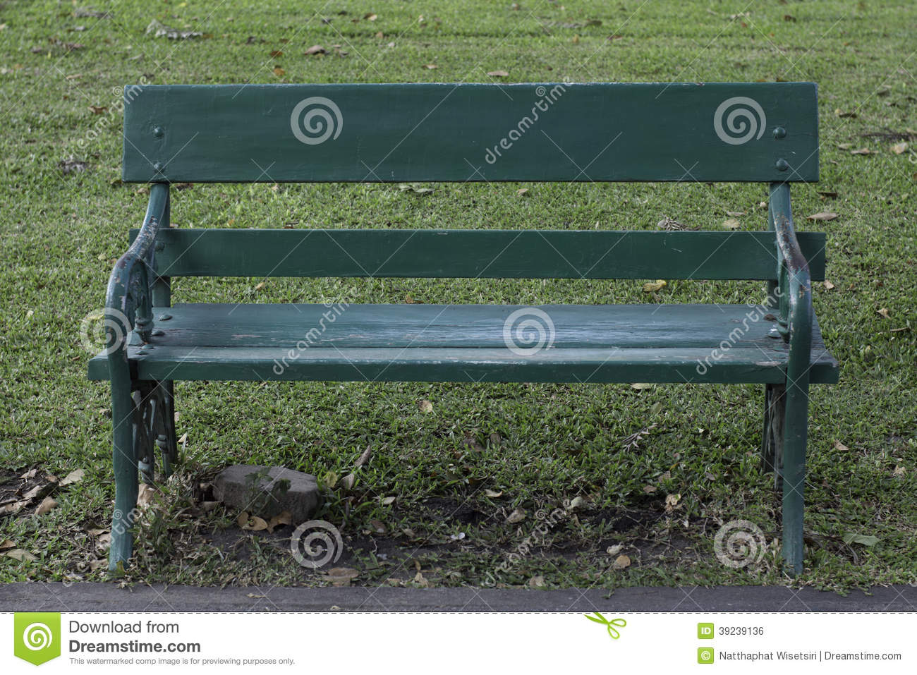 Garden Chair Stock Photo Image 39239136
