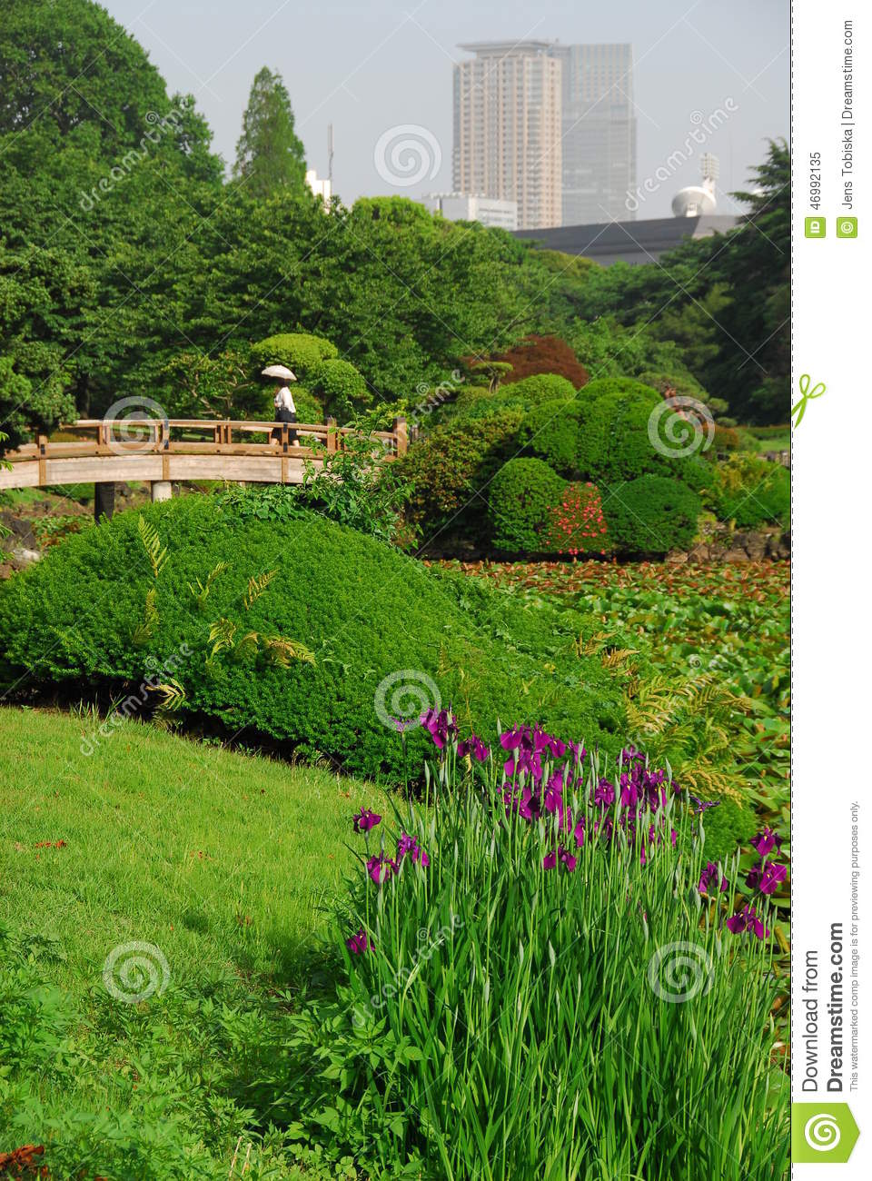 Garden City Stock Photo Image 46992135