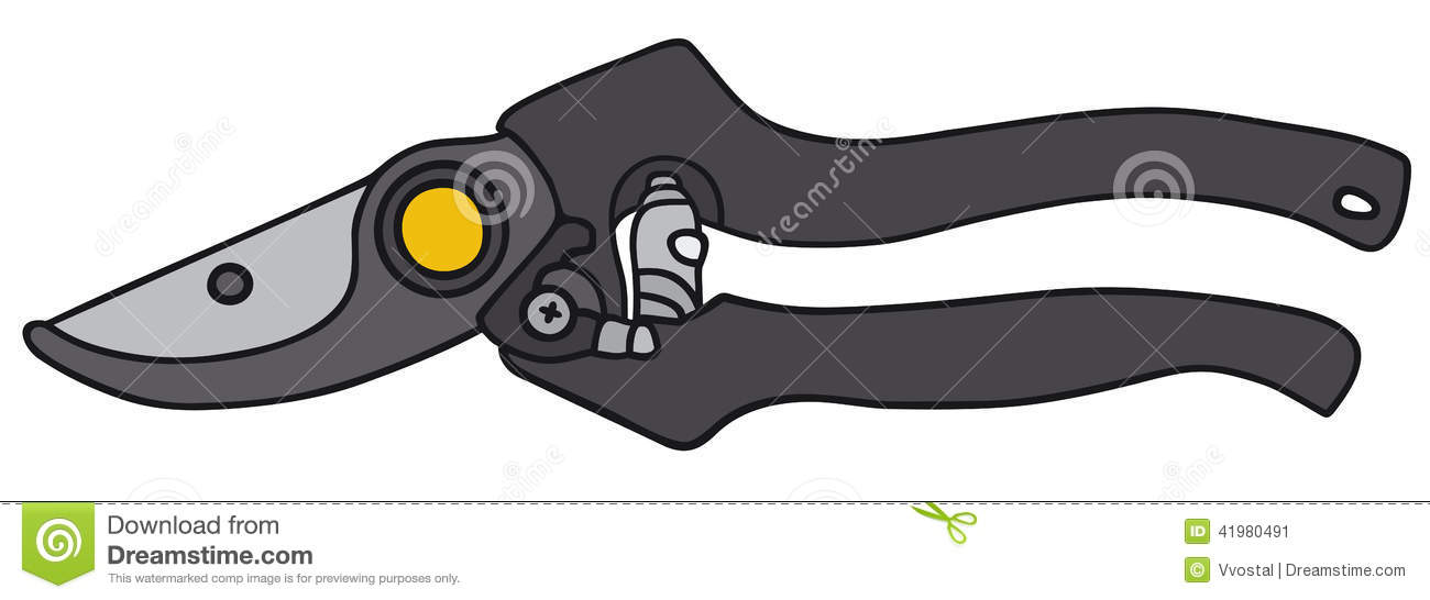 Garden Clippers Stock Vector Image 41980491