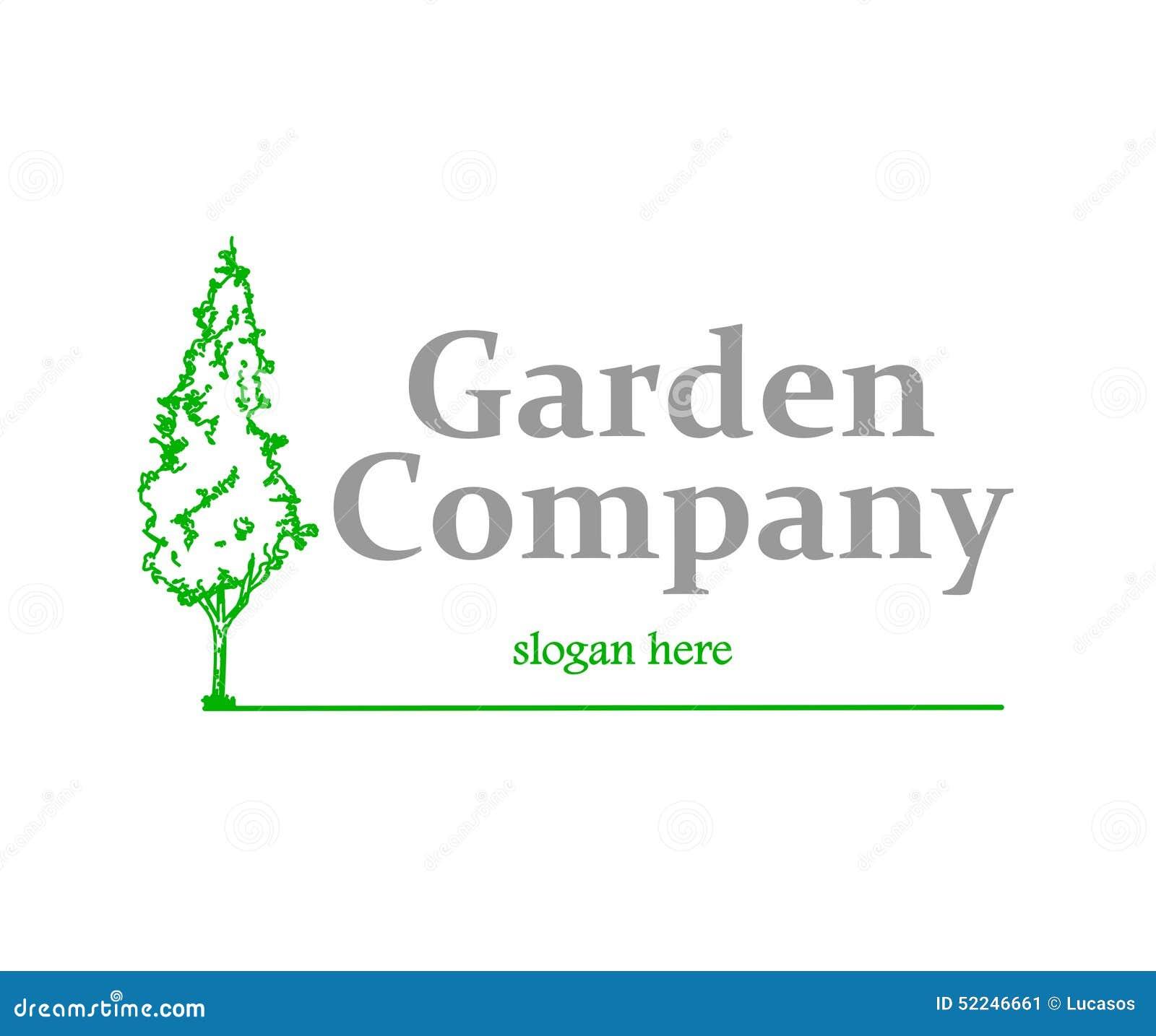 Garden Company Logo Stock Vector Image 52246661