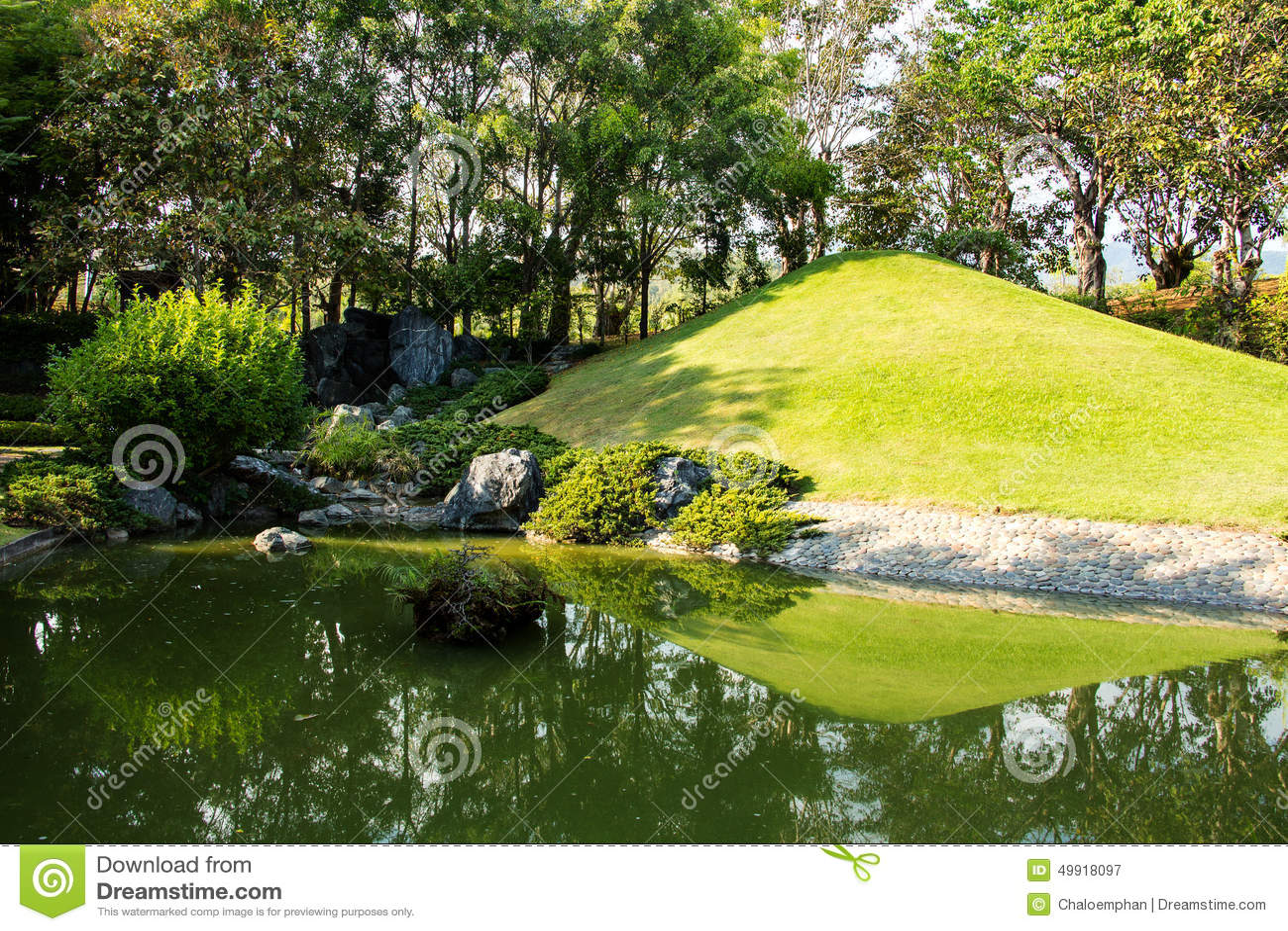 Garden design stock photo image 49918097 for Free japanese garden designs
