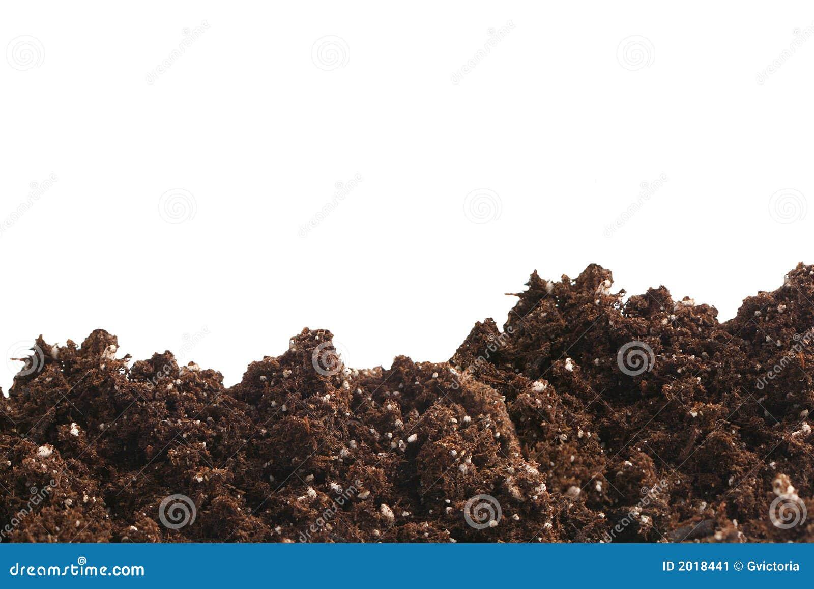 Garden Dirt Stock Image Image 2018441