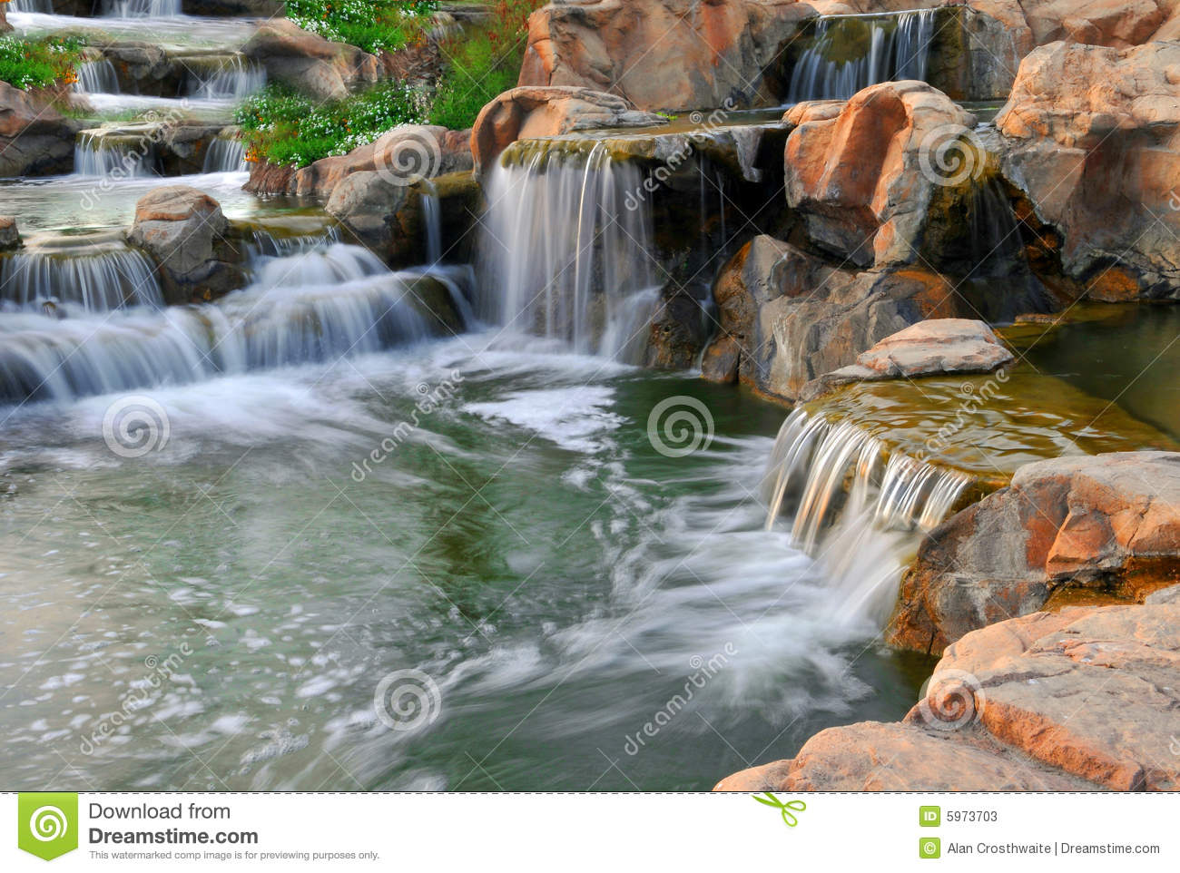 Garden of eden stock photos image 5973703 River flowing from the garden of eden