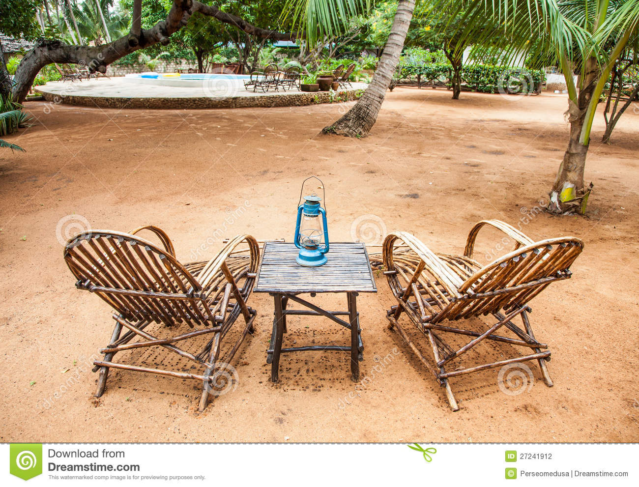 Garden furniture stock photography image 27241912 for Outdoor furniture kenya