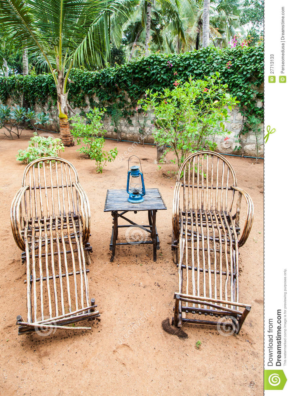 Garden furniture stock photos image 27713133 for Outdoor furniture kenya