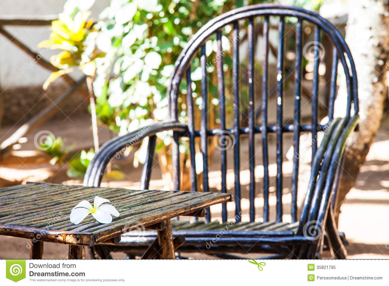 Garden furniture royalty free stock photo image 35821795 for Outdoor furniture kenya