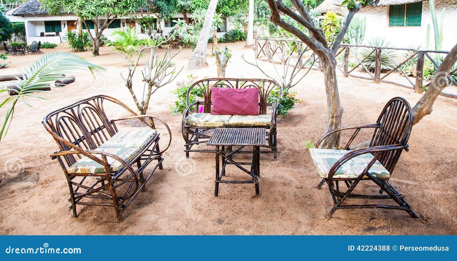 African Garden Furniture Garden furniture stock photo image of decor home style 42224388 garden furniture workwithnaturefo