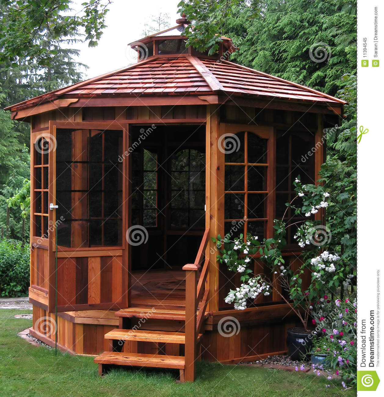 Gazebo Garden Stock Photos Images Pictures 4401 Images