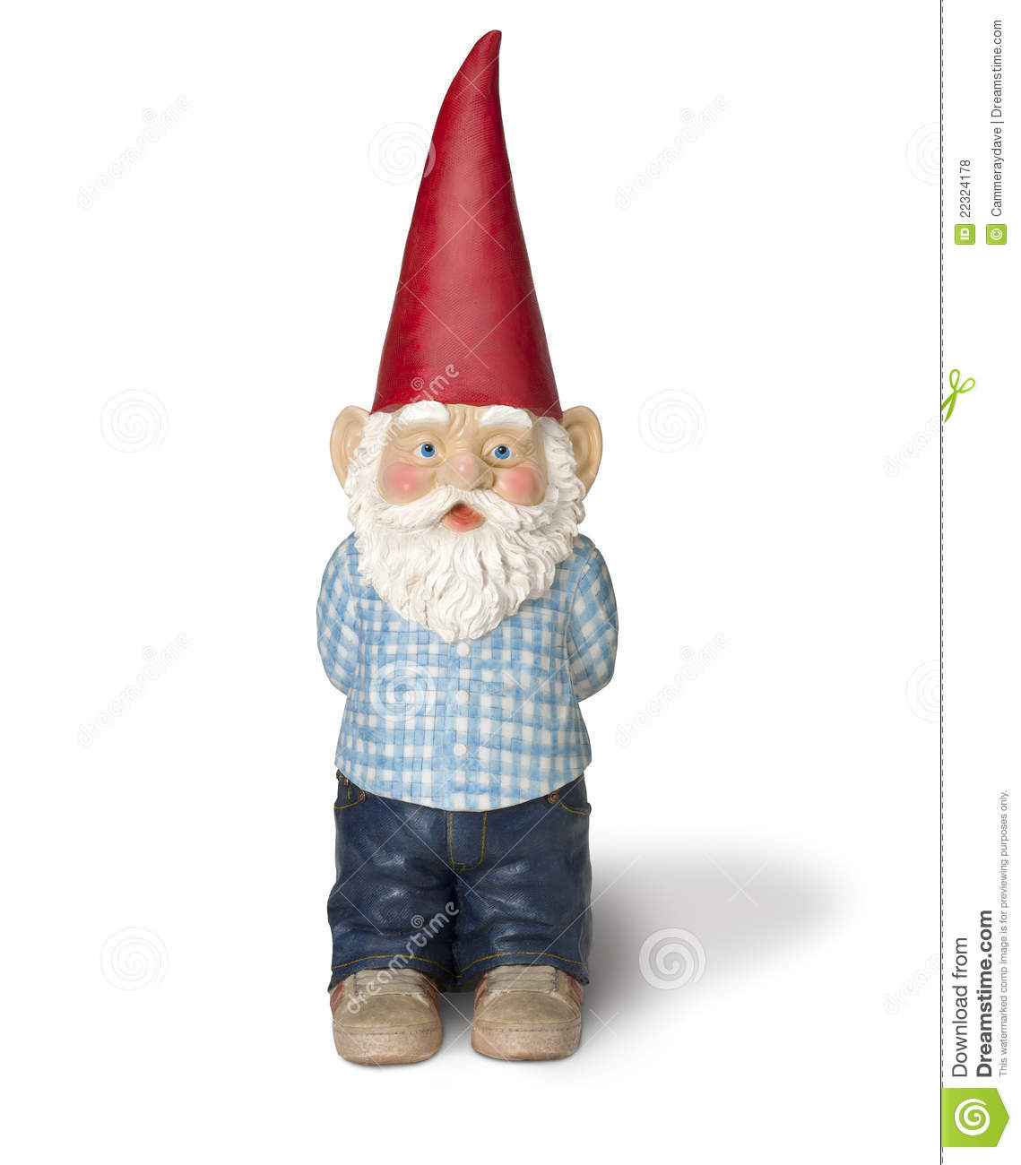 Garden gnome elf dwarf stock photo image of garden - Duendes para jardin ...