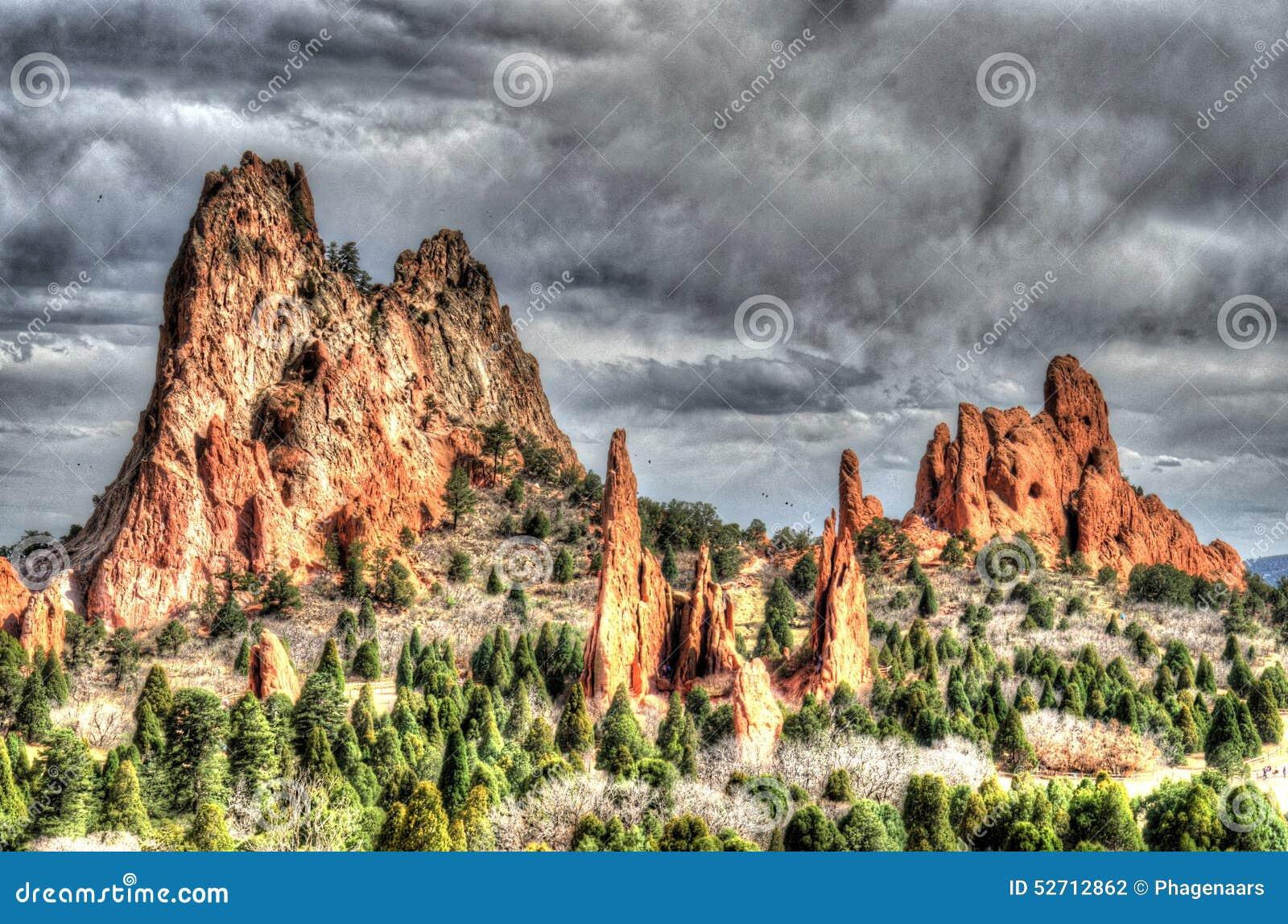 Garden Of The Gods Colorado Springs Royalty Free Stock Photography 13251161