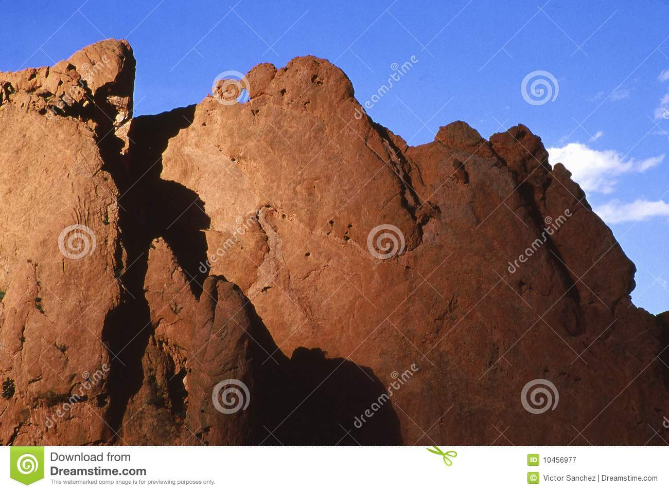 Garden Of The Gods Kissing Camels Royalty Free Stock Photography Image 10456977