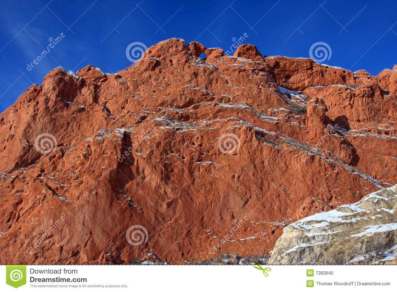 Garden Of The Gods Kissing Camels Royalty Free Stock Photo Image 7383945