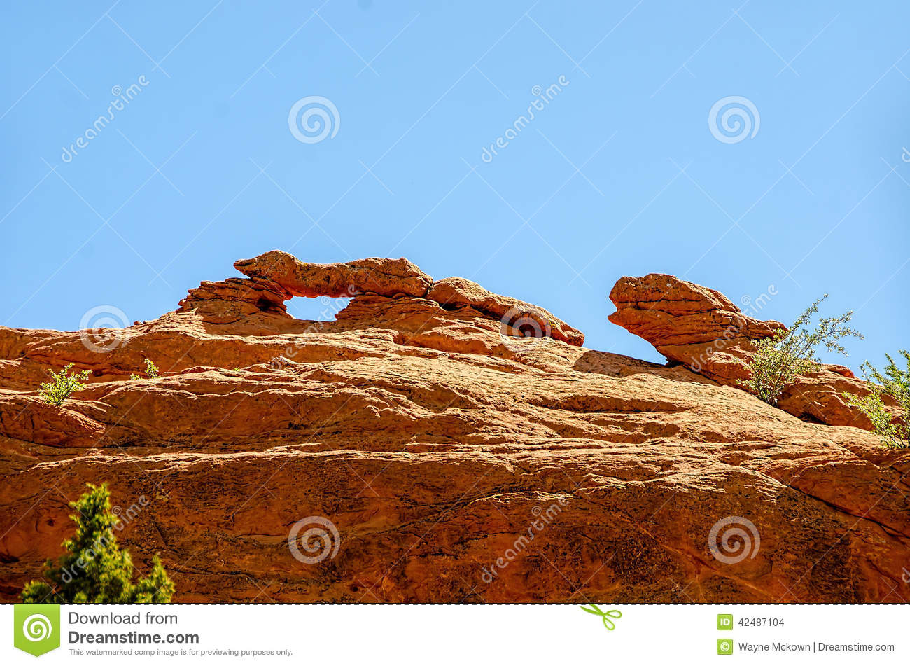 Garden of the Gods stock photo. Image of colorado, colorful - 42487104