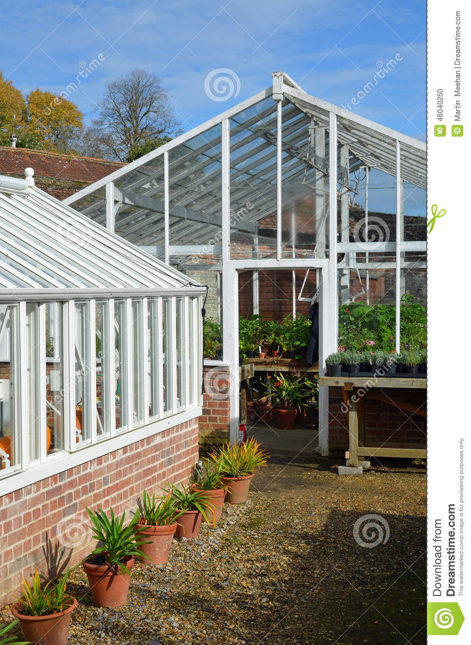Garden Greenhouse 39 S Stock Photo Image 46040250