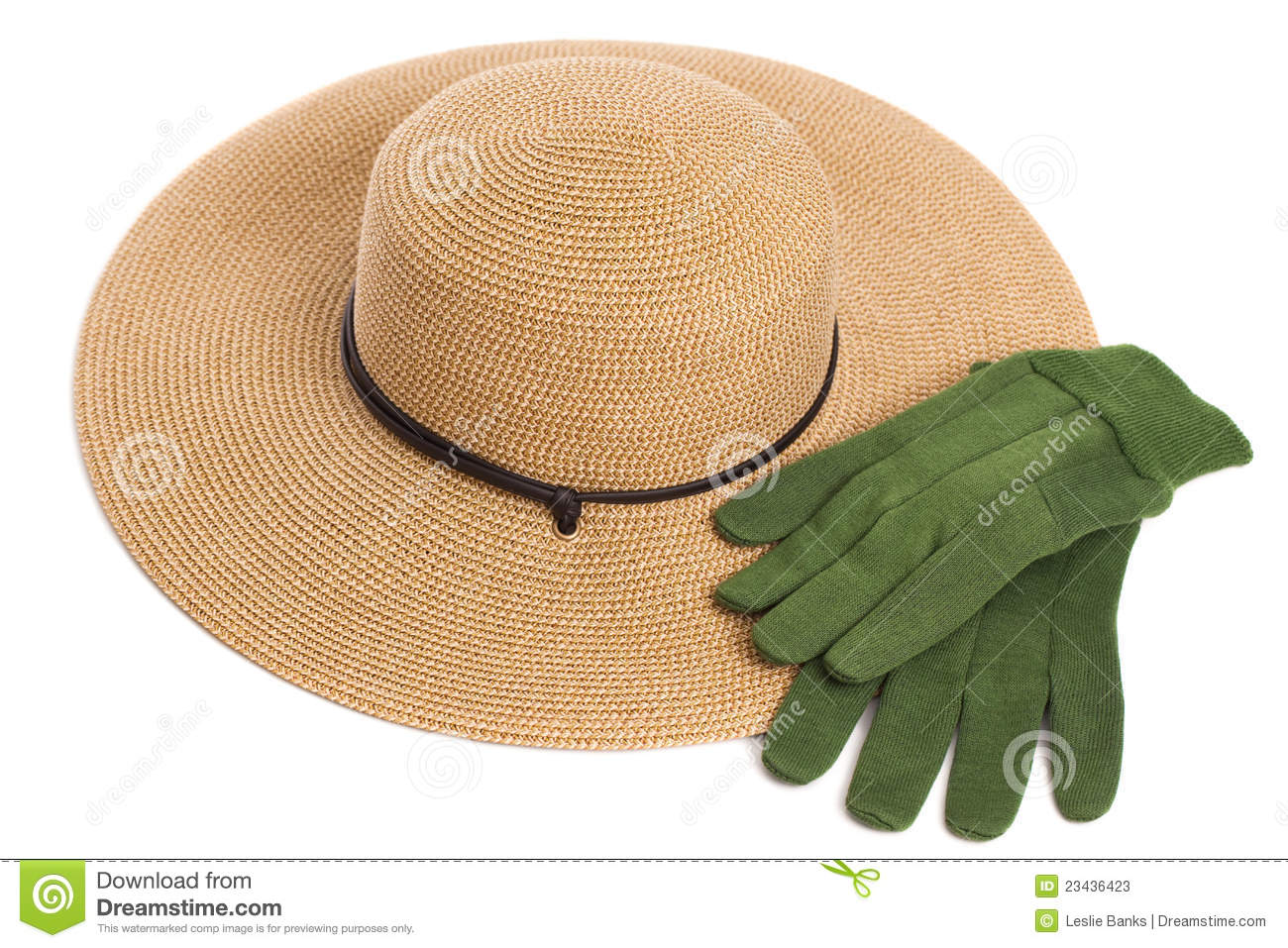 Garden Hat And Gloves Stock Photos Image 23436423