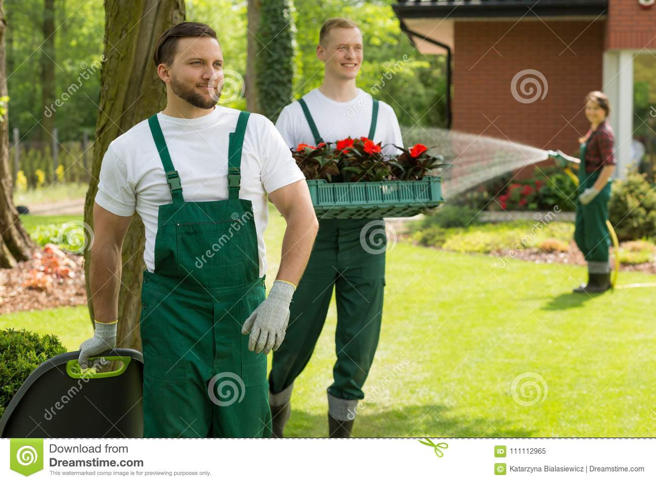 Download Garden Heroes Making Every Backyard A Masterpiece Stock Image    Image Of Flower, Lawn