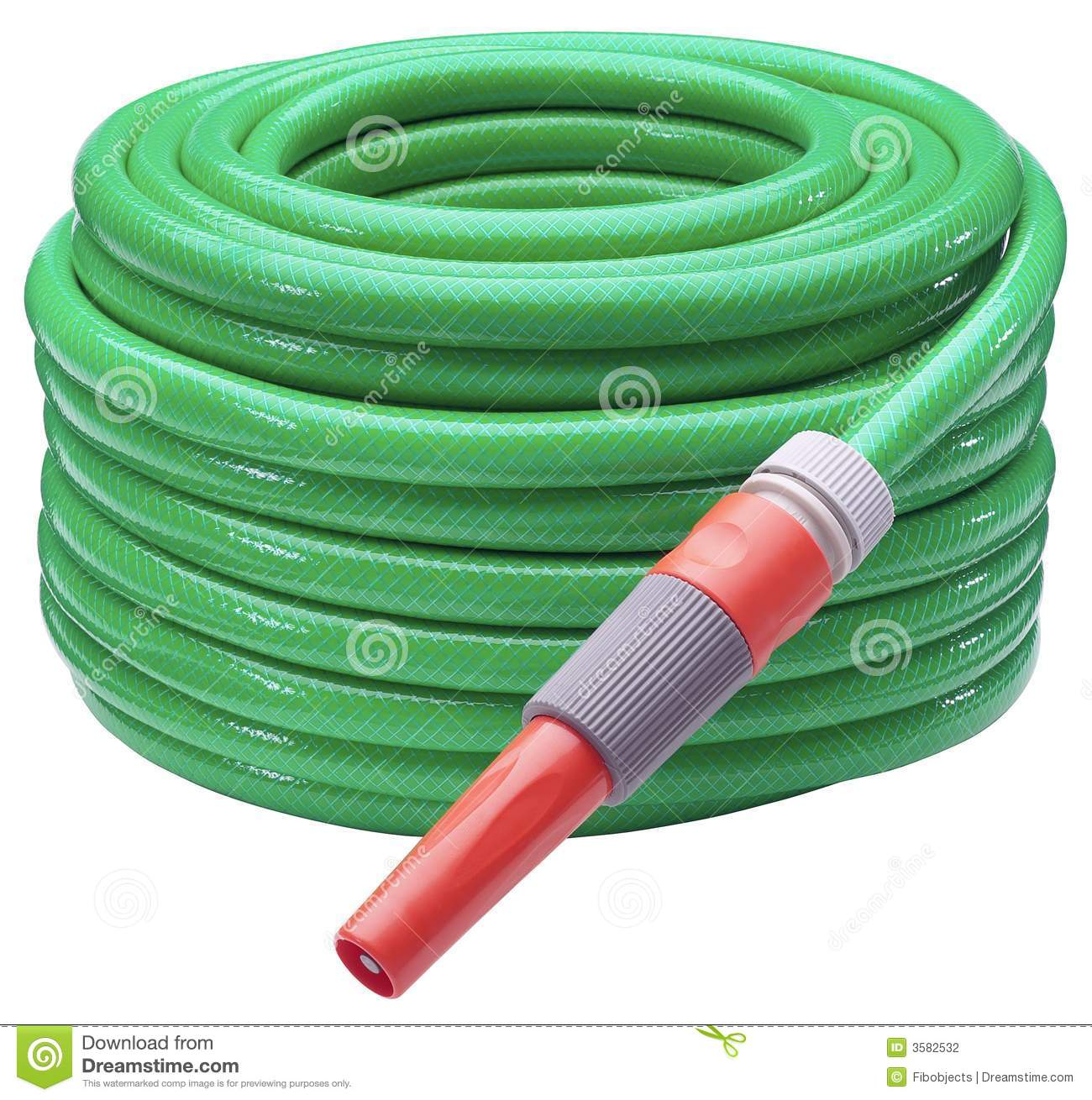 Garden Hose Stock Photography Image 3582532