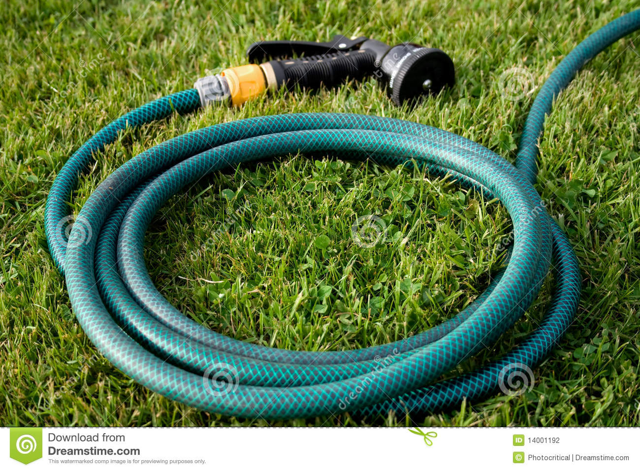Garden Hose Head Stock Photography Image 14001192