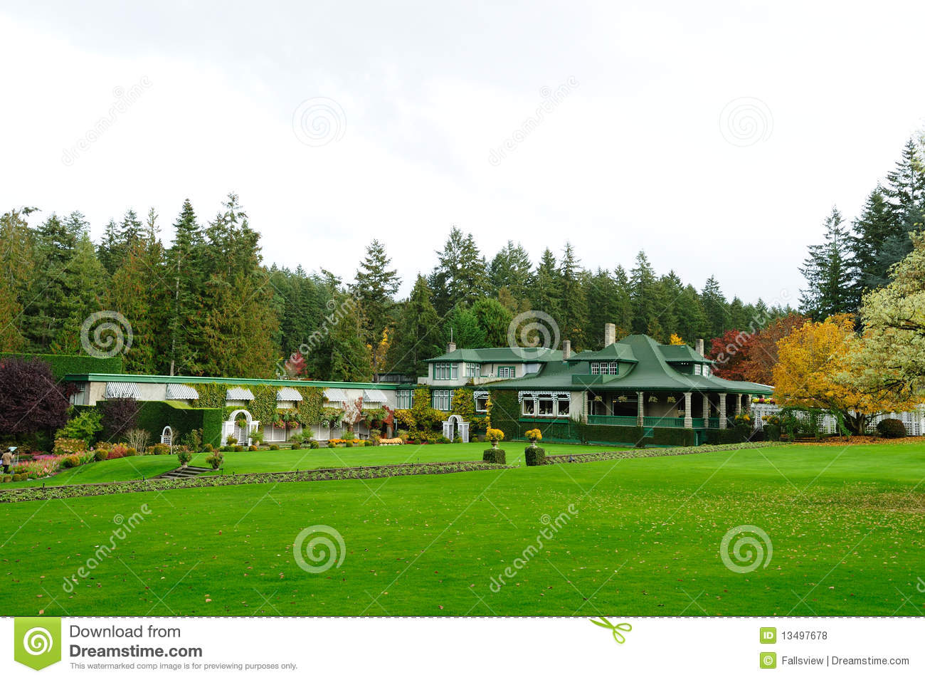 Garden house royalty free stock photos image 13497678 for Garden shed victoria bc