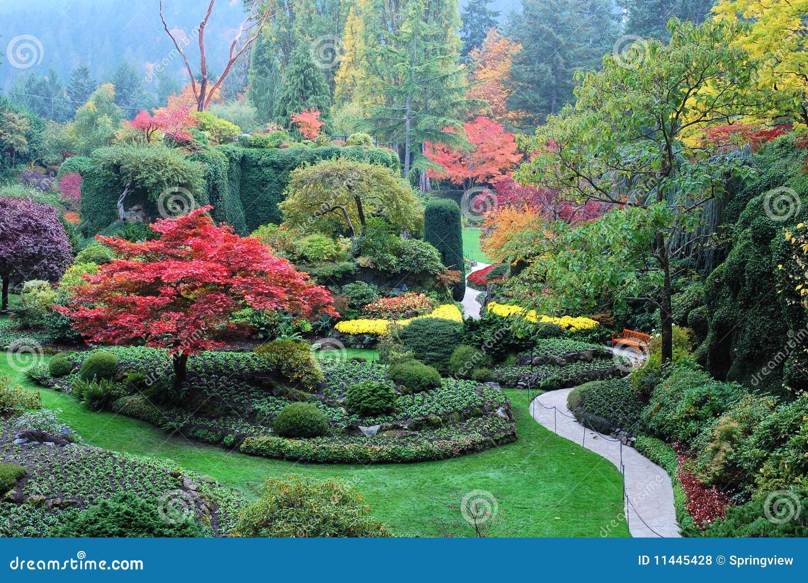 Garden landscape royalty free stock photos image 11445428 for Garden design victoria bc
