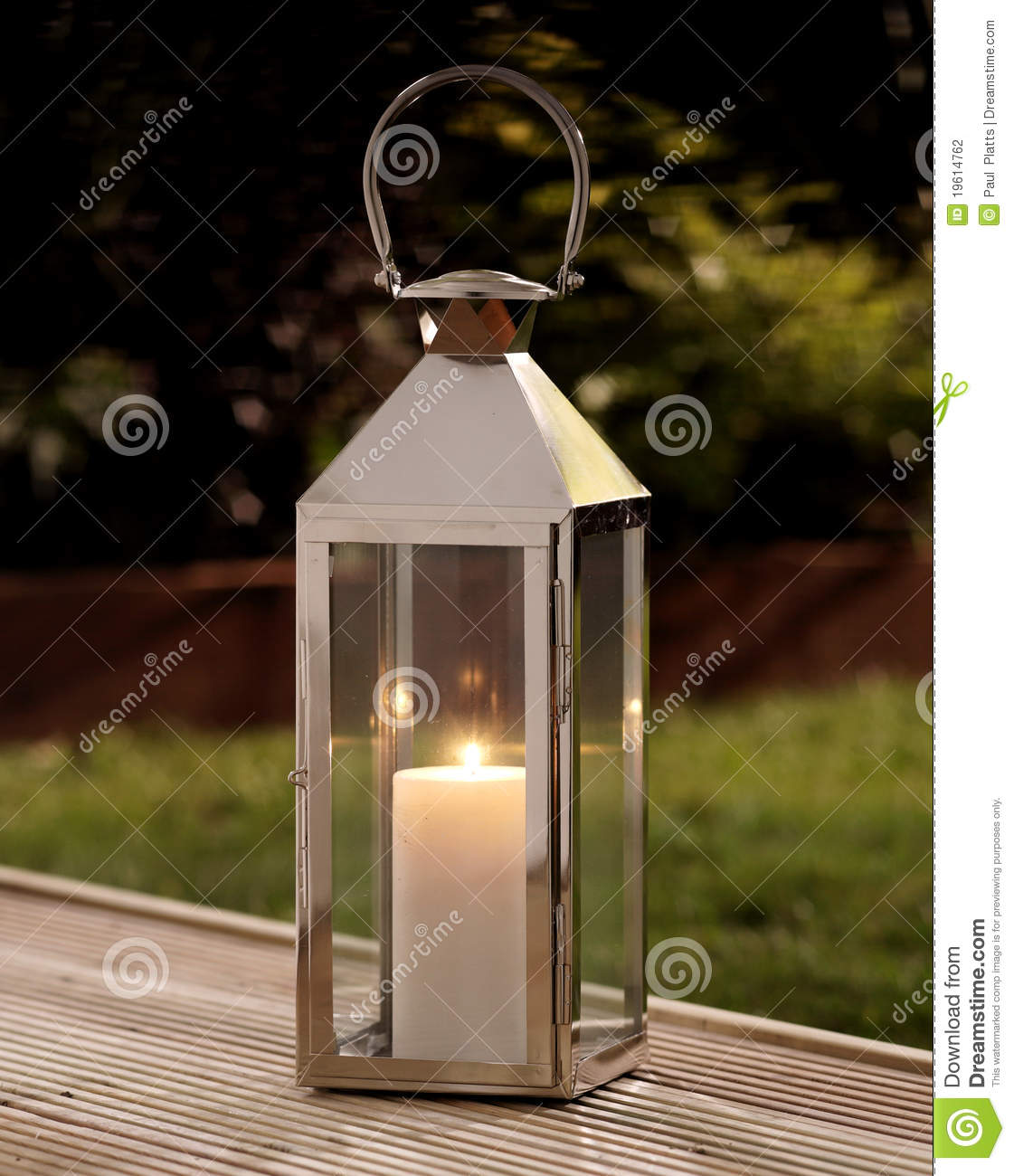 Garden Lantern Stock Photography Image 19614762
