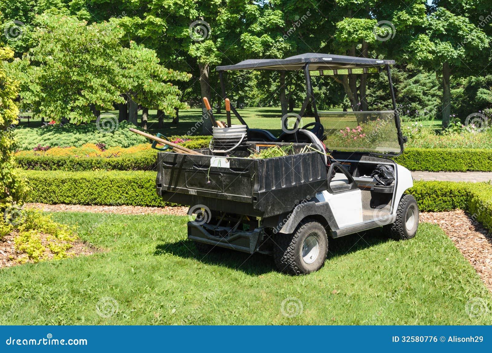 Garden maintenance cart royalty free stock image image for Garden maintenance van