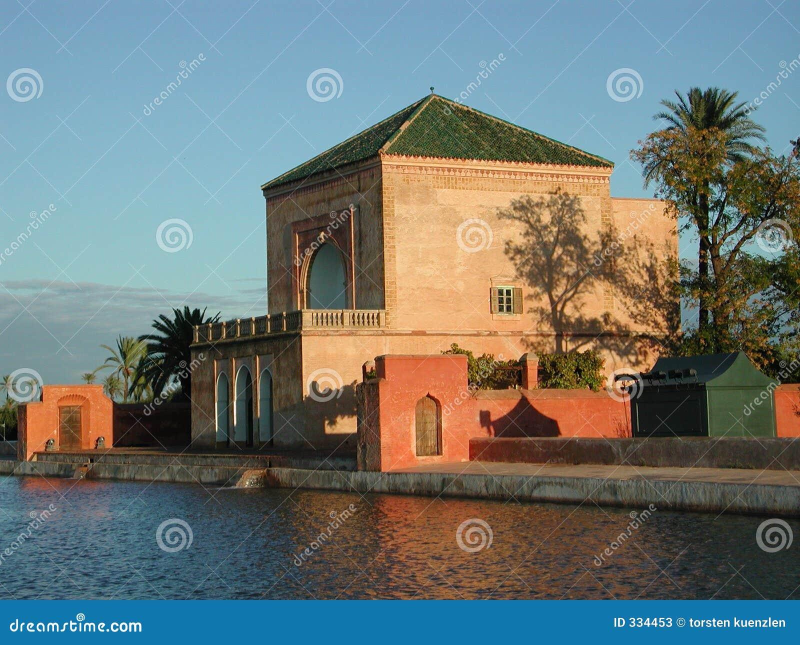 Garden marrakesh menara morocco pavillion