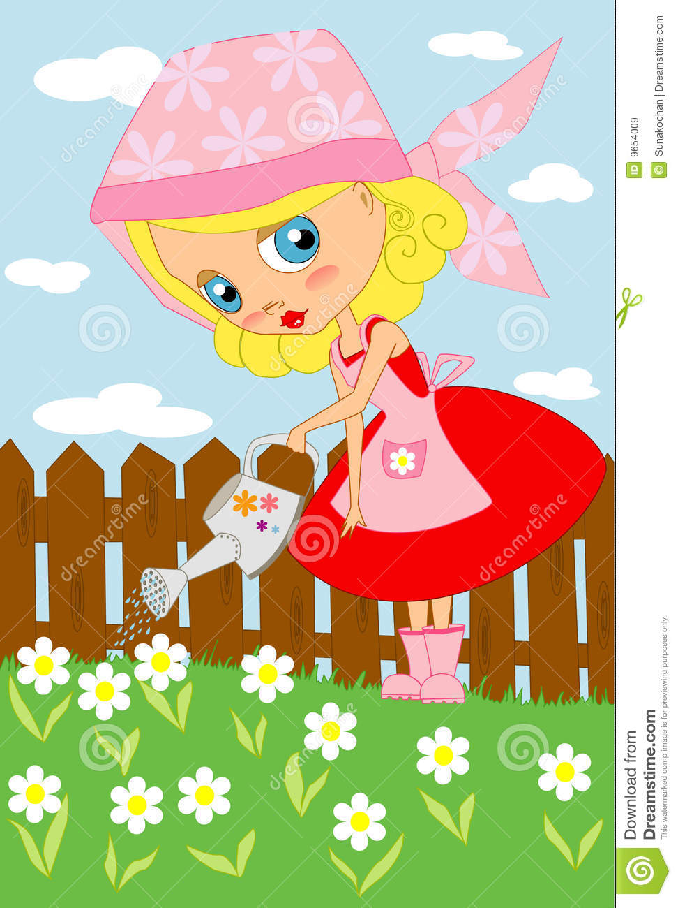 Garden my love royalty free stock images image 9654009 for Gardening is my passion