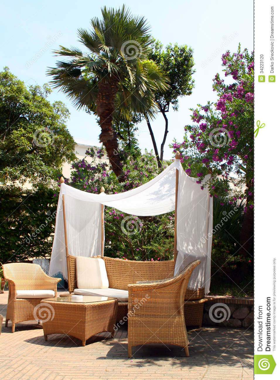 Garden Stock Photo Image 34223120