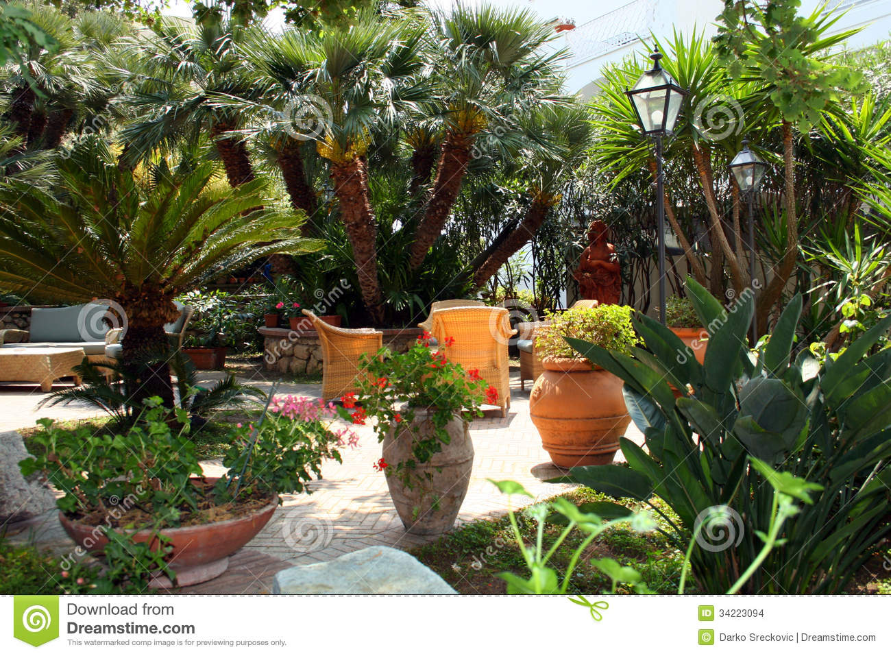 Garden Stock Images Image 34223094
