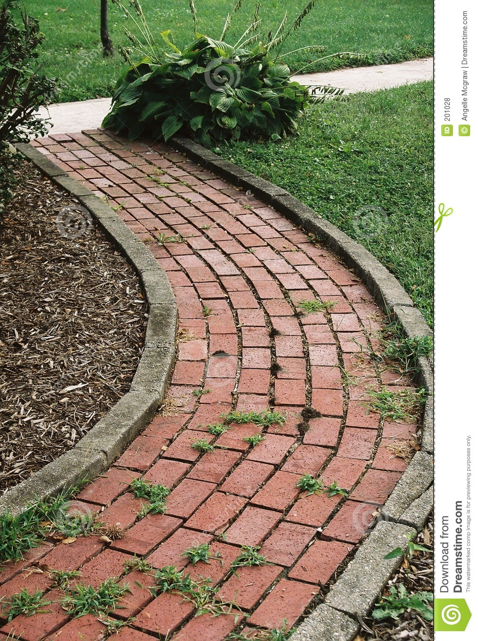 Garden Path Royalty Free Stock Photos - Image: 201028
