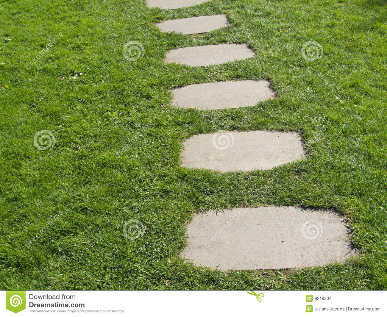 Garden Path Stock Images - Image: 9218204