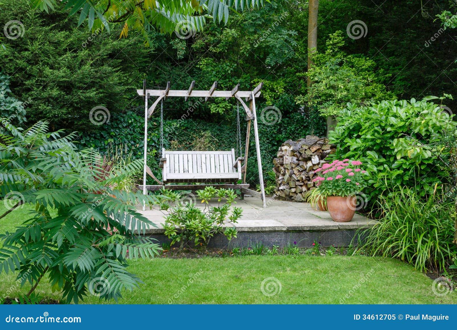Garden Patio Royalty Free Stock Photo - Image: 34612705