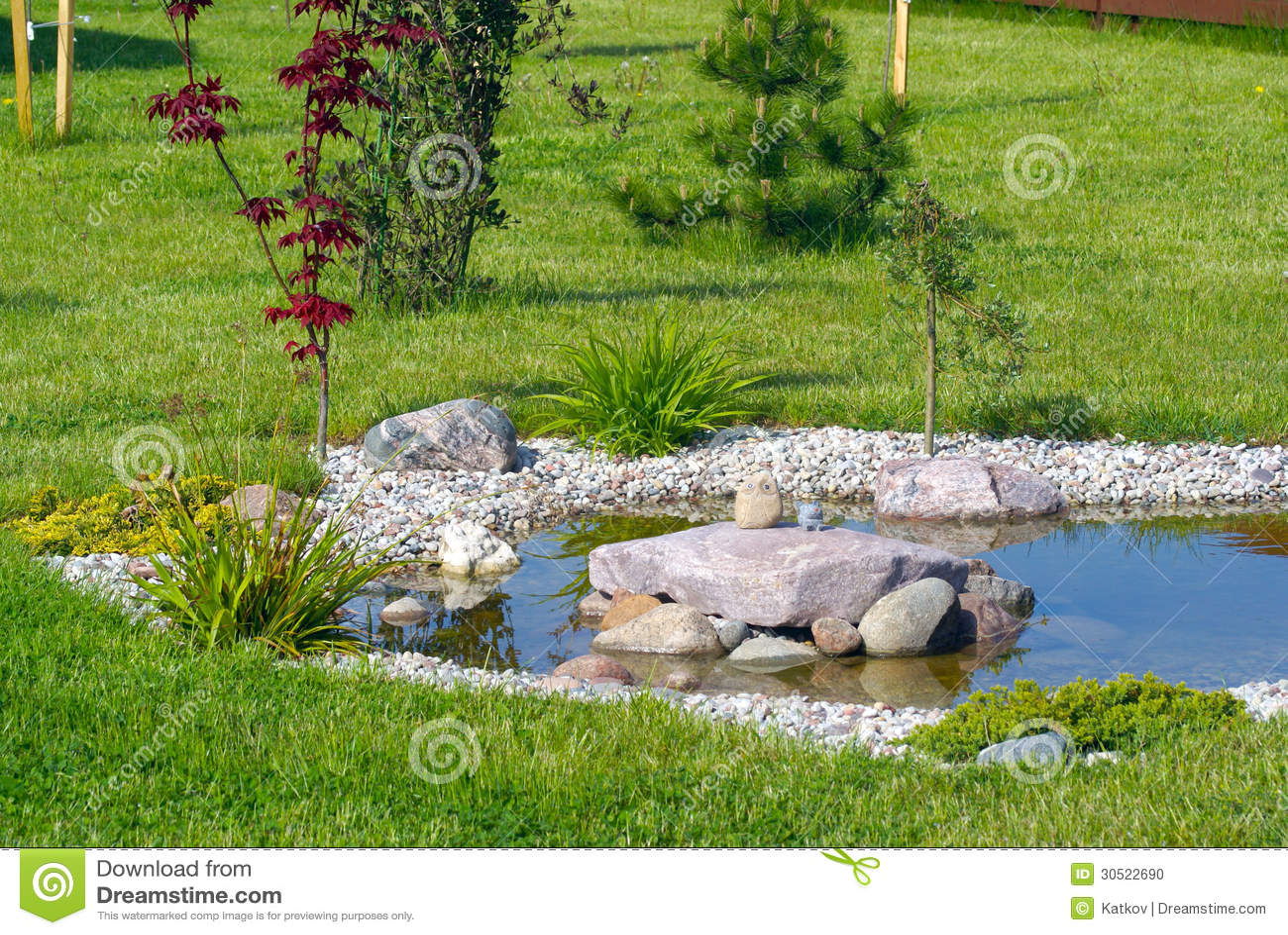 Garden pond stock photo image 30522690 for Garden pond management