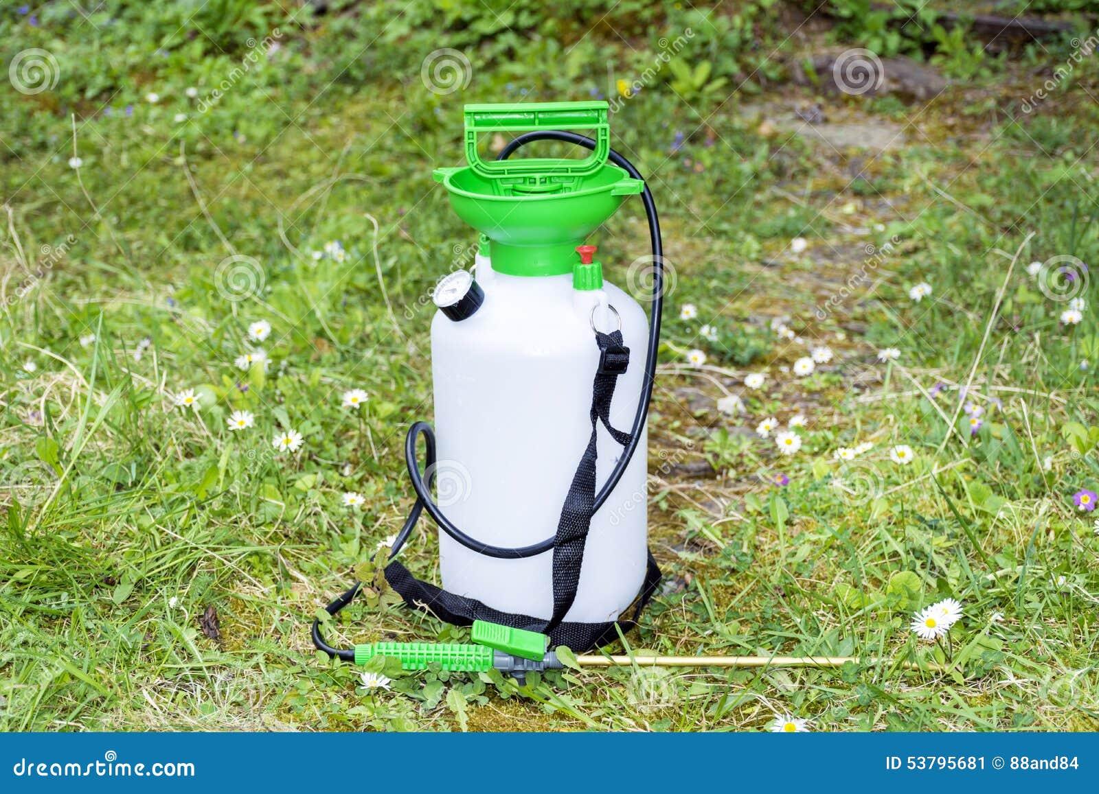 garden pressure sprayer stock image image of agriculture. Black Bedroom Furniture Sets. Home Design Ideas