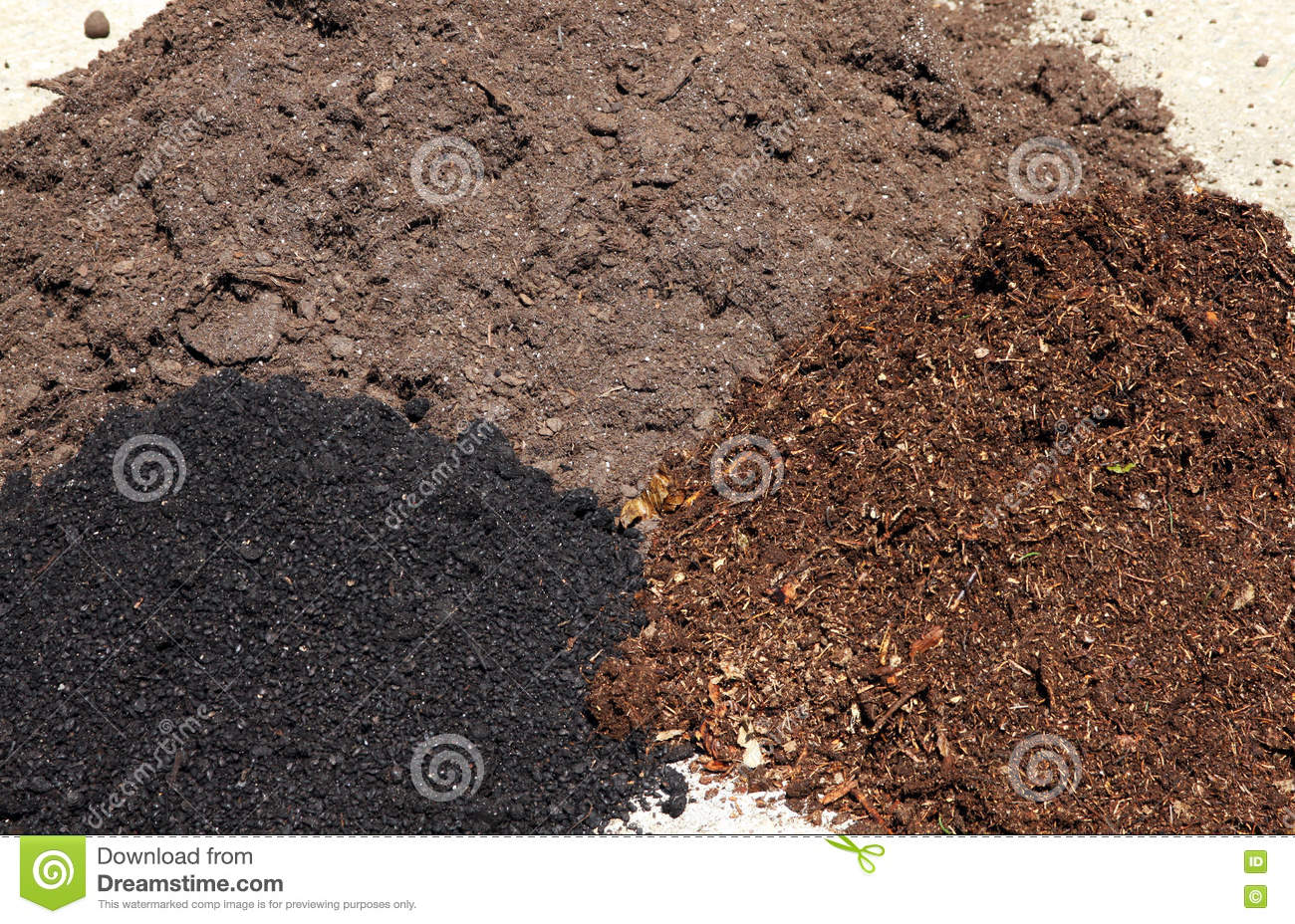 Garden soil type royalty free stock photo cartoondealer for Soil uses and its importance