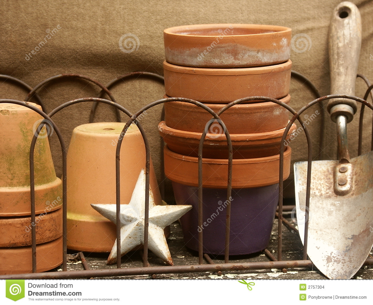 Garden stuff still life stock photo. Image of collection - 2757304