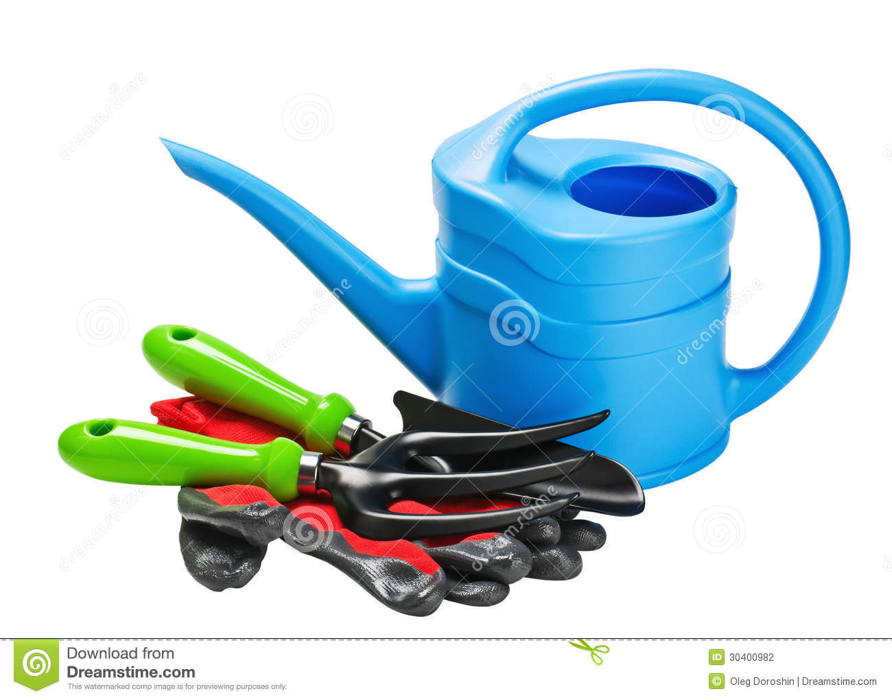 Garden tools and accessories stock photography image for Gardening tools and accessories