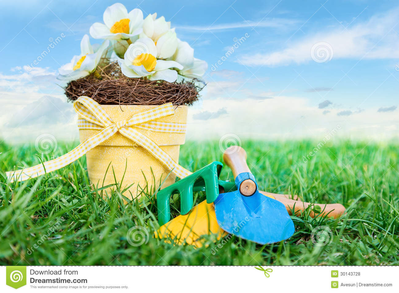 Garden Tools Royalty Free Stock Photos Image 30143728