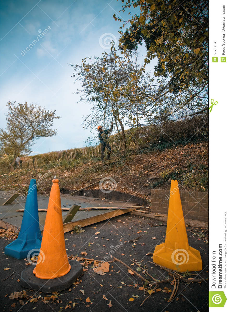 Garden Work Stock Images Image 6976734